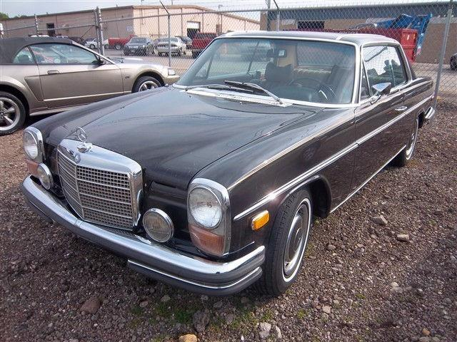 1971 mercedes benz 250c for sale in youngstown ohio for Fred martin mercedes benz