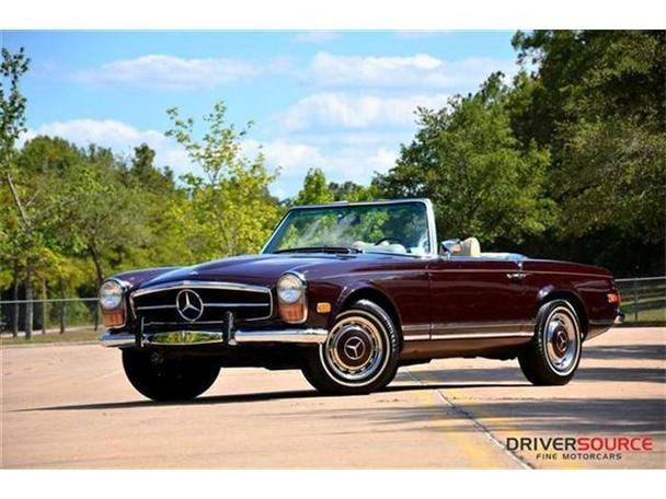 1971 mercedes benz 280sl for sale in houston texas for Mercedes benz houston