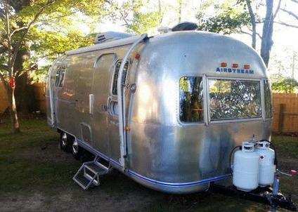 1972 Airstream Travel Trailer Trade Wind