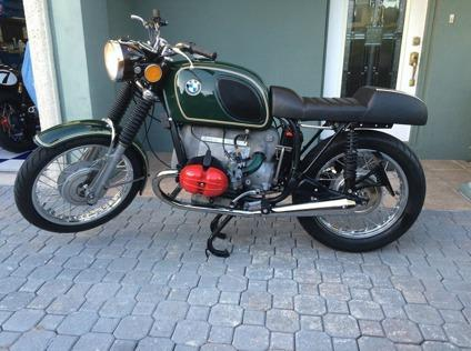 1972 Bmw R50 5 Cafe Racer Triple Numbers Matching For Sale In Sturgeon Bay Wisconsin