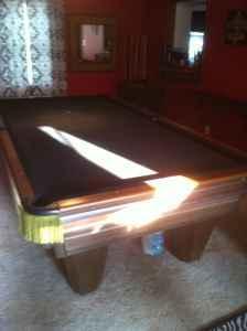1972 Brunswick Heritage Pool Table Evansville For Sale