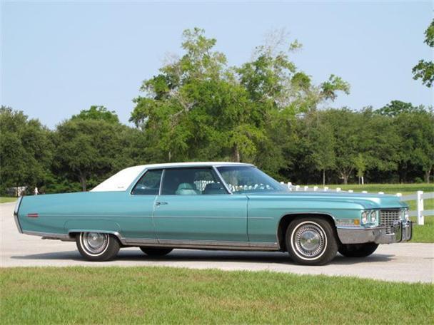 1972 Cadillac Coupe DeVille for Sale in Orlando, Florida ...