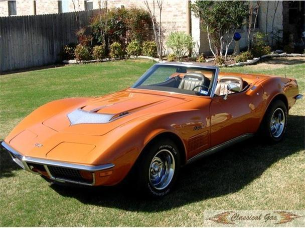 1972 chevrolet corvette for sale in arlington texas classified. Cars Review. Best American Auto & Cars Review