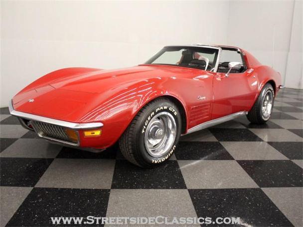 1972 chevrolet corvette for sale in charlotte north carolina classified. Black Bedroom Furniture Sets. Home Design Ideas
