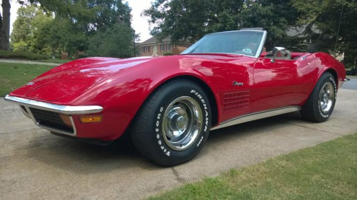 1972 chevrolet corvette 1972 chevrolet corvette 427 trim classic car in cartersville ga. Black Bedroom Furniture Sets. Home Design Ideas