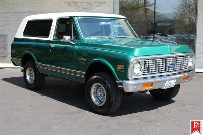 1972 Chevrolet K5 Blazer 4wd Vin Cke182f160861 For