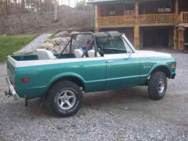 1972 Chevrolet K5 Blazer 4x4 For Sale In Mansfield Ohio