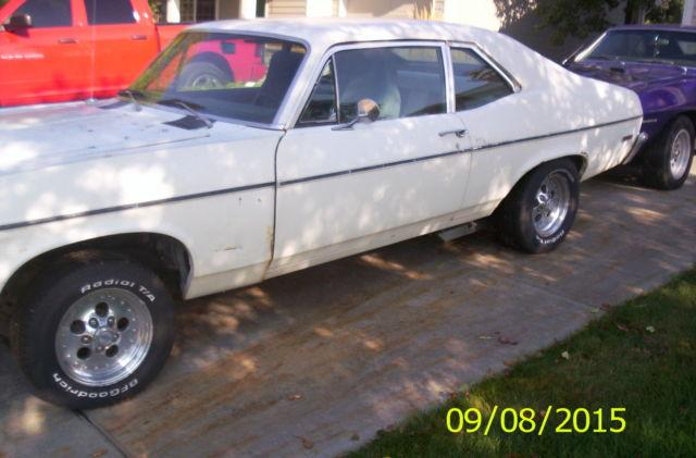1972 CHEVROLET NOVA 2 DOOR RUNNING, DRIVING PROJECT CAR