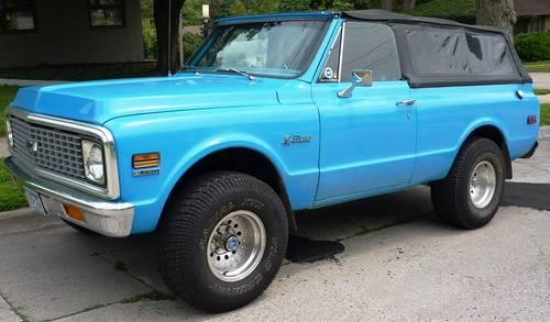1972 Chevy Blazer K5 - Price Reduction