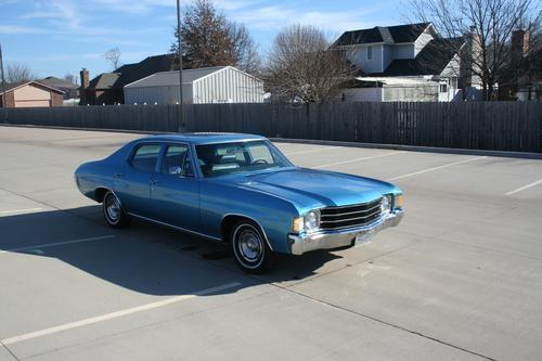 1972 Chevy Chevelle 4 Door Malibu For Sale In Oklahoma