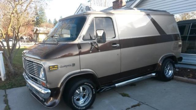 1972 chevy van Shorty