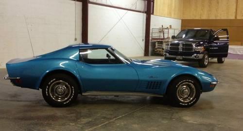 1972 corvette blue 4 speed for sale in dalton georgia classified. Black Bedroom Furniture Sets. Home Design Ideas