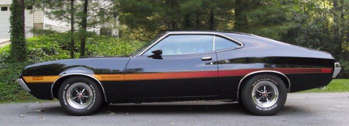 1972 Ford Gran Torino Sport 351 Black For Sale In Chicago