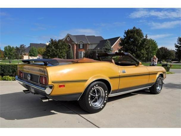 1972 ford mustang for sale in plymouth michigan classified. Black Bedroom Furniture Sets. Home Design Ideas