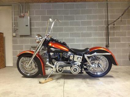 1972 Harley-Davidson Touring FLH Shovelhead