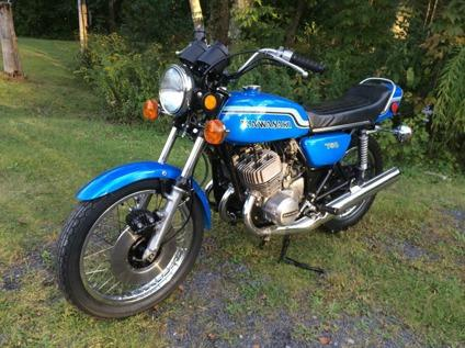 1972 Kawasaki H2 750 Triple Original Paint