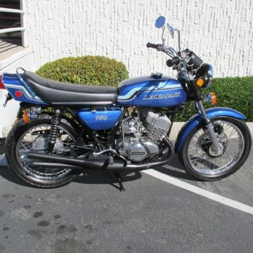1972 Kawasaki H2 750 Triple Worldwide Free Shipping