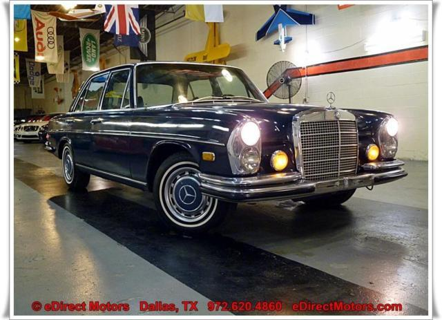1972 mercedes benz 280se 4 5 w108 auto great deal for Mercedes benz service dallas tx