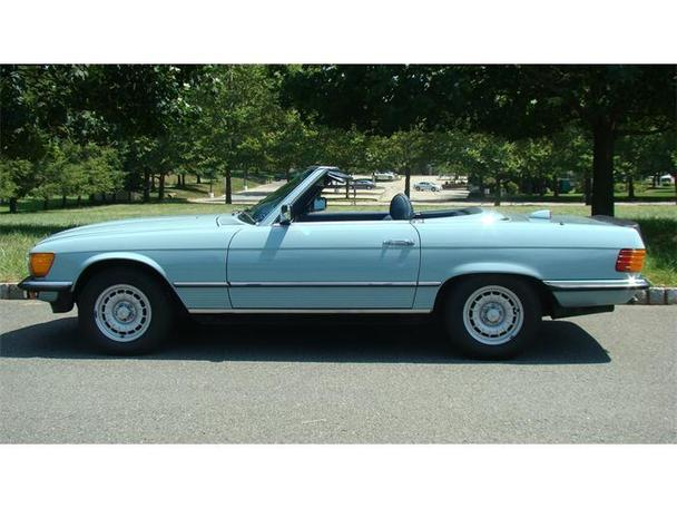 1972 mercedes benz 350sl for sale in gladstone new jersey for Mercedes benz c300 for sale nj