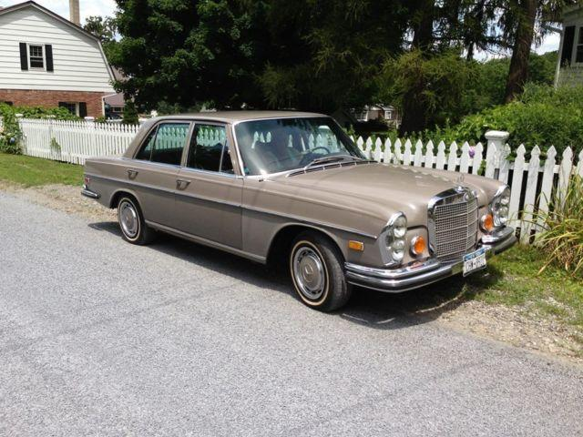 1972 mercedes benz ny for sale in warwick new york for Warwick mercedes benz