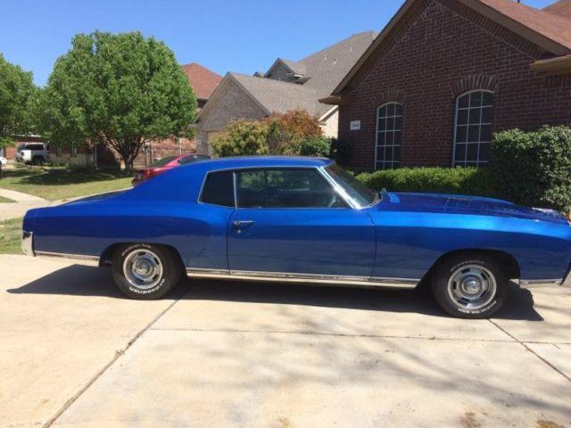 1972 monte carlo for sale in grand prairie texas. Black Bedroom Furniture Sets. Home Design Ideas