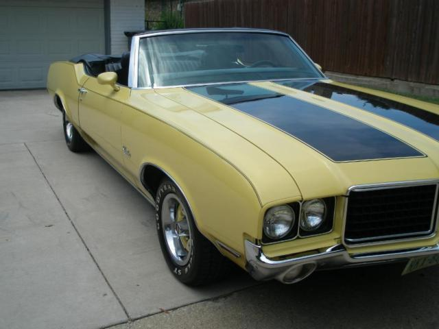 1972 Olds Cutlass Convertable For Sale In Plano Texas