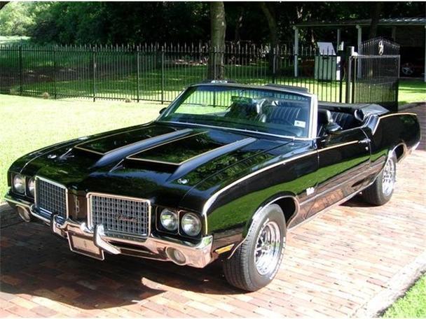 1972 Oldsmobile Cutlass For Sale In Arlington Texas