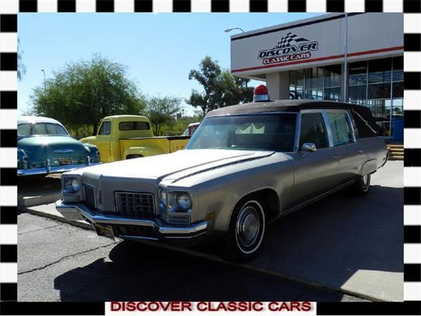 1972 Oldsmobile Ninety eight hearse