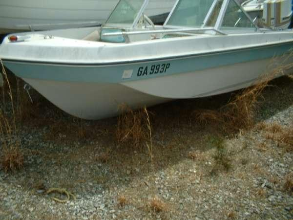 1972 skee craft 16 bowrider tri hull chrysler 70 for sale for Bowrider boats with outboard motors