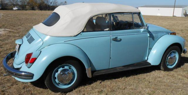1972 VW Beetle/Bug Convertable (Nice)