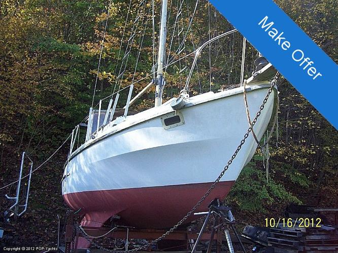 1972 Westerly 26 Sloop