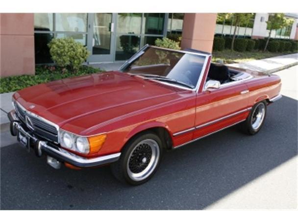 1972 mercedes benz 350sl for sale in benicia california for Mercedes benz 350sl for sale