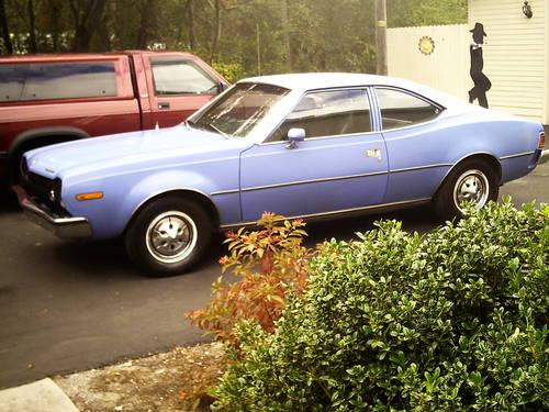 1973 AMC HORNET X HATCHBACK-AUTO V-8-P/S-P/B FACT  A/C