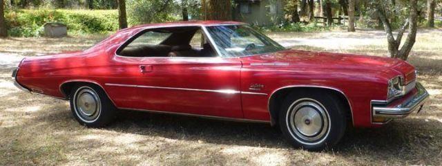 1973 Buick LeSabre - 455 cu.in. - 2 door hardtop custom ...