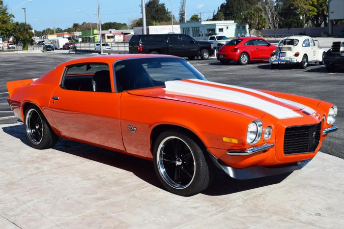 1973 Chevrolet Camaro LT Z-28, HUGGER ORANGE