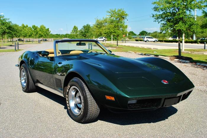 1973 Chevrolet Corvette Convertible 350 V8 4-Speed