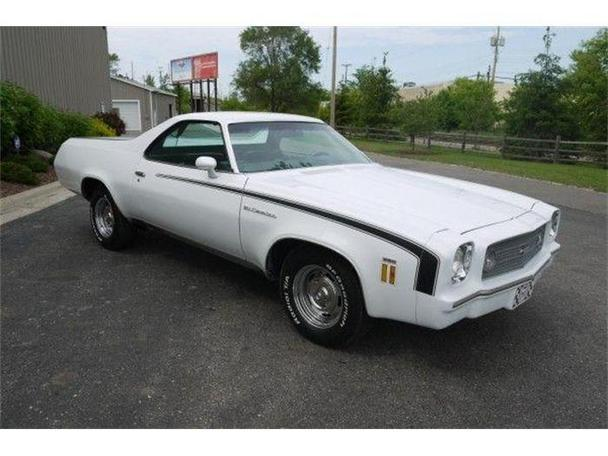 1973 Chevrolet El Camino For Sale In Lansing Michigan
