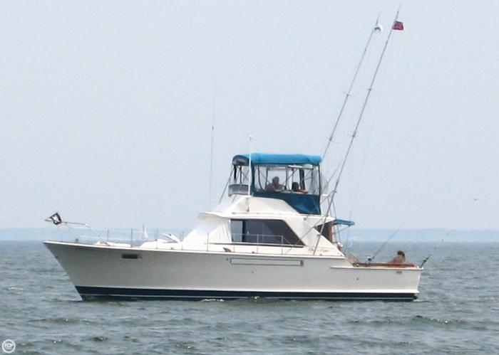 1973 Chris Craft 42 Commander Sportfisherman For Sale In