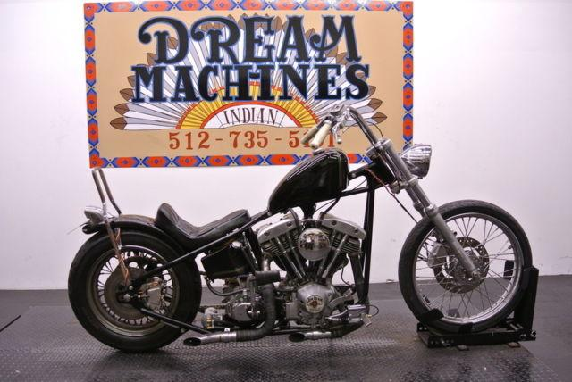 1973 Custom Built Shovel Head Chopper