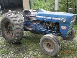 1973 Ford 4000 Tractor Amp Bush Hog Downing For Sale In