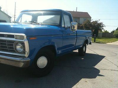 Cab Toledo Ohio >> 1973 Ford F-100 Custom Pick Up Truck for Sale in Darbydale ...