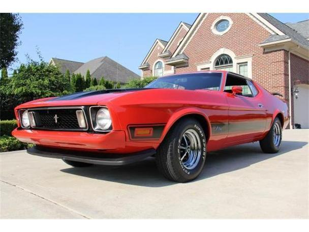 1973 ford mustang for sale in plymouth michigan classified. Black Bedroom Furniture Sets. Home Design Ideas