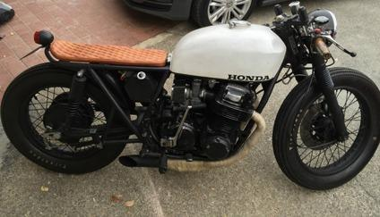 Honda Cb750 Seven Fifty Cafe Racer Umbau Oldschool Design in addition Ultra Clean Bmw R80 Cafe Racer By Craig Jones additionally Bmw K100 Tracker in addition 1976 Honda Cb750 furthermore Honda Cb750 Nighthawk. on honda cb750 custom cafe racer