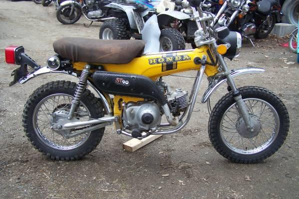 1973 honda st 90 trailsport rare for sale in palmyra for Honda motorcycle dealers maine