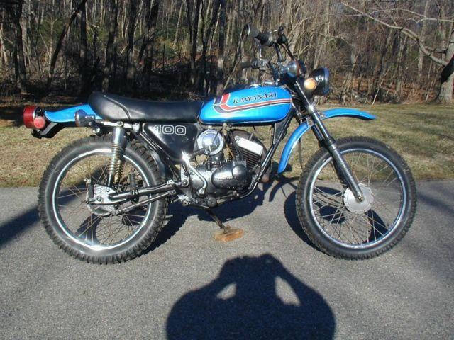 1973 kawasaki g5 100 vintage dirt bike for sale in holliston