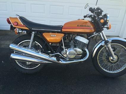 1973 Kawasaki H2 750 Needs Nothing
