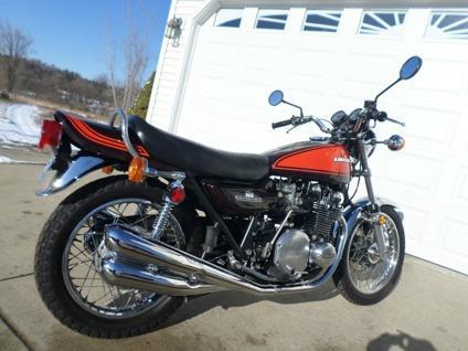 1973 Kawasaki Z1 900 Brown