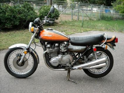 1973 Kawasaki Z1 900 Survivor Original Paint