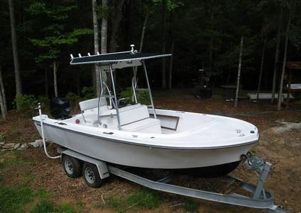 1973 Mako 20 Center Console With T Top 150 Hp For Sale In