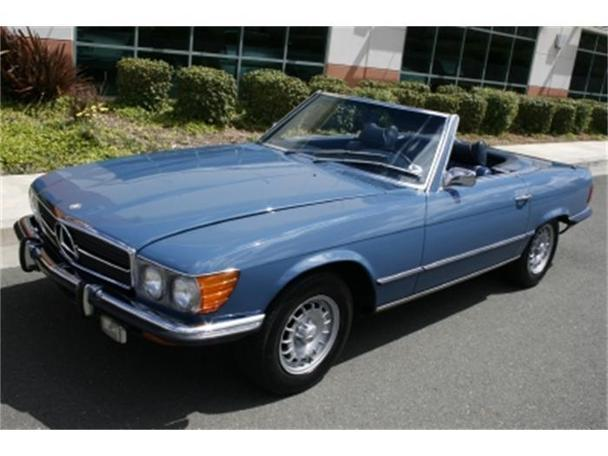 1973 mercedes benz 450sl for sale in benicia california